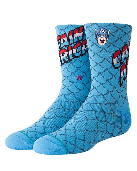 Stance Socks - Captain America Socks (2-5.5)