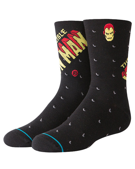 Stance Socks - Invincible Iron Man Crew Socks (2-5.5)