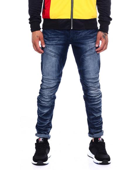 SMOKE RISE - Articulated Leg Jean