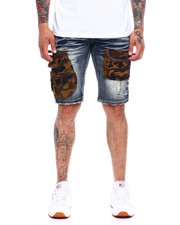 Heritage America - CAMO DENIM SHORT-2368423