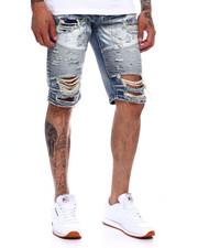 Shorts - DISTRESSED MOTO JEAN SHORT-2368459