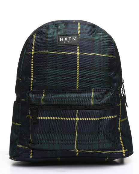 HXTN Supply - Forest Check Backpack (Unisex)