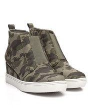 Women - Raja Camo Wedge Sneakers-2367909
