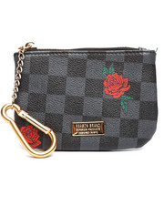 Reason - Check Rose Coin Pouch-2364840