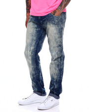 Jeans & Pants - SAND BLUE DENIM STRETCH JEANS-2368059