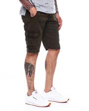 Shorts - CARGO SHORT W FAUX SUEDE TRIM-2368310