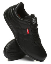 Levi's - Millicent UL Black Mono Chrome Sneakers-2368649