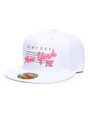 Hats - New York Neon Script Snapback Hat-2362942