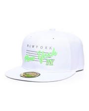 Hats - New York Neon Script Snapback Hat-2362936