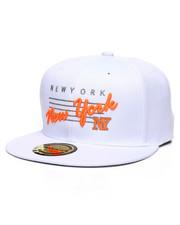 Hats - New York Neon Script Snapback Hat-2362944