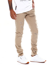 Copper Rivet - Distressed Twill Pant-2368502
