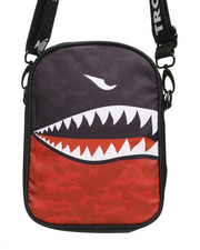 Trophies - Camo Shark Mouth Shoulder Bag (Unisex) -2368960