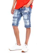 Shorts - STRETCH DENIM MOTO SHORT-2369453