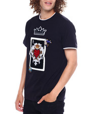 SWITCH - POKER PATCH TEE W JEWEL DETAIL-2369420