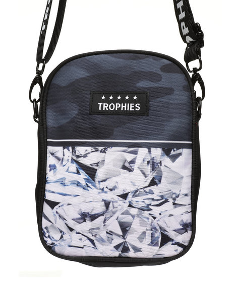Trophies - Diamond Print Shoulder Bag (Unisex)