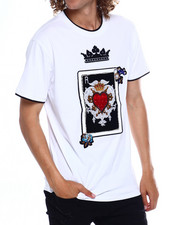 SWITCH - POKER PATCH TEE W JEWEL DETAIL-2369147