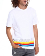 Calvin Klein - BOTTOM MULTI STRIPE TEE-2369315