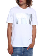 Calvin Klein - METALLIC INSTITUTIONAL TEE-2369414