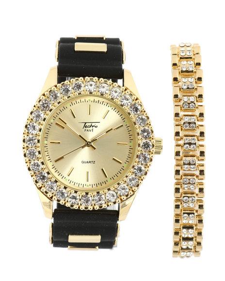 Buyers Picks - Cuban Link Bracelet & Watch Set