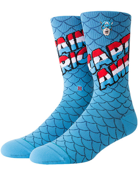 Stance Socks - Captain America Socks