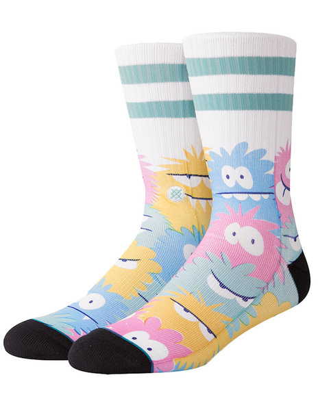 Stance Socks - Kevin Lyons Monster X Stance Crew Socks