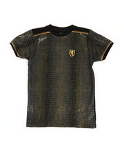 Sizes 8-20 - Big Kids - Faux Snake Skin Print Tee-2368856