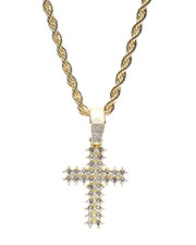 Accessories - Blinged Cross Rope Chain-2369939