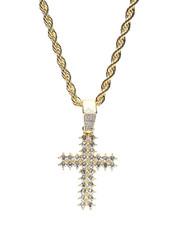 Buyers Picks - Blinged Cross Rope Chain-2369939