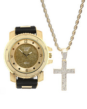 Accessories - Cross Chain & Watch Set-2367832