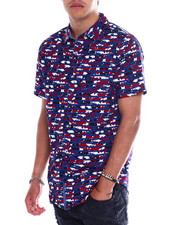 Button-downs - Stars and Stripes SS Woven Shirt-2370592