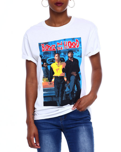Graphix Gallery - Boyz N The Hood Cast S/S Oversized Tee