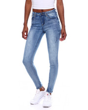 Jeans - Distressed 5 Pocket Skinny Jean-2369652