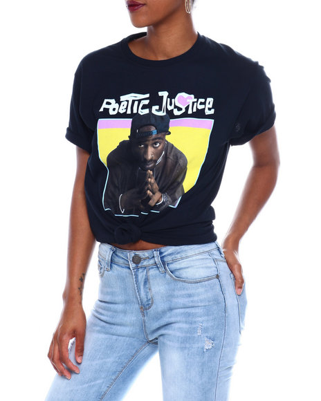 Graphix Gallery - Poetic Justice Hands S/S Oversized Tee