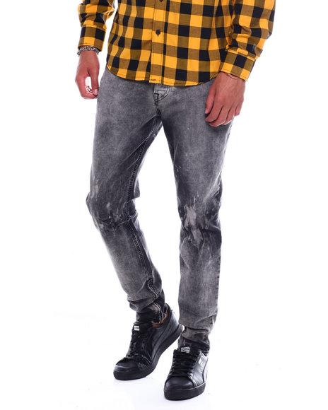 Hudson Jeans - Vaughn Skinny Ankle-Zip Deconstructed Jean