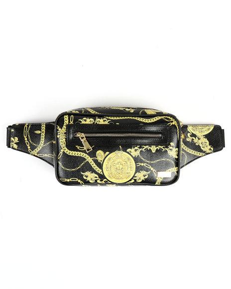 Reason - Gold Chain Shoulder Bag (Unisex)