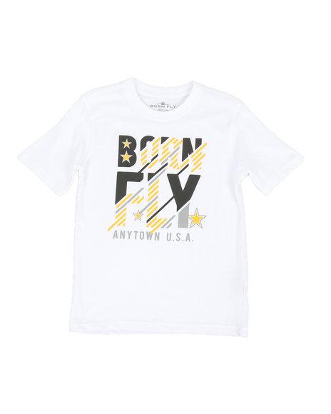 Born Fly - Screen Print Tee (8-20)