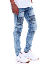 Buyers Picks - VINTAGE ACID WASH MOTO JEAN-2370757