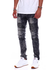 Buyers Picks - VINTAGE ACID WASH MOTO JEAN-2370765