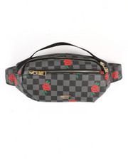 Bum Bags - Check Rose Waist Bag (Unisex)-2369940