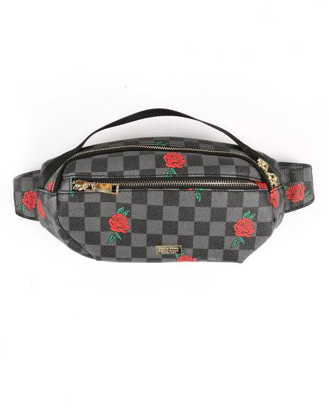 Reason - Check Rose Waist Bag (Unisex)
