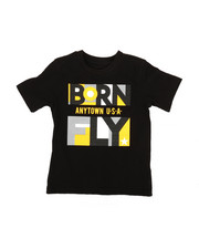 Born Fly - Panel Print Tee (2T-4T)-2369951