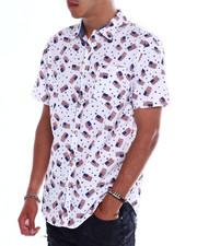 Button-downs - Americana flag ss woven shirt-2370578