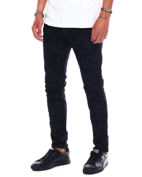 Buyers Picks - BLACK CAMO BLOWN OUT KNEE PANT