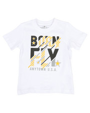 Born Fly - Panel Print Tee (2T-4T)-2370090