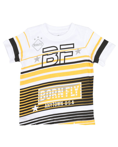 Born Fly - Screen Print Tee (2T-4T)