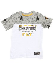 Sizes 8-20 - Big Kids - Pieced Tee (8-20)-2370128