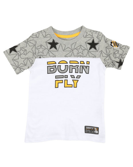 Born Fly - Pieced Tee (2T-4T)