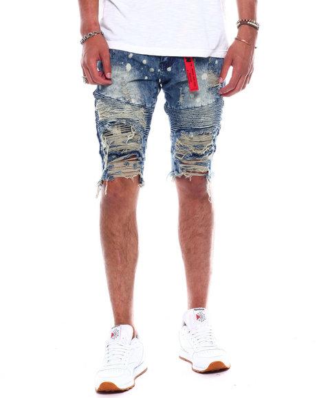 Reason - Cumberland Denim Shorts