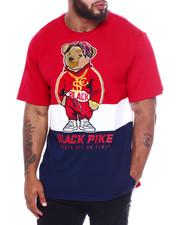 Men - S/S Jersey Tee Shirts W/Patch (B&T)-2370854