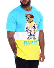 Men - S/S Jersey Tee Shirts W/Patch (B&T)-2370858